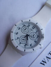 SWATCH+CHRONO PLASTIC+SUSW402 TWICE AGAIN WHITE+NEU/NEW