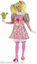 CIRCUS SWEETIE TICKLES THE CLOWN ADULT HALLOWEEN COSTUME CIRCUS CLOWN FUN