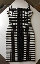 HERVE LEGER by Max Azaria Keeley Bandage Dress S £2440
