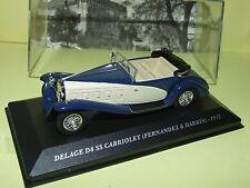DELAGE D8 SS CABRIOLET FERNANDEZ & DARRIN Bleu & Blanc 1932 ALTAYA 1:43