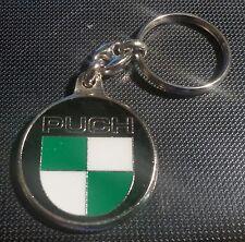 Puch Schlüsselanhänger Keyring Porte-Cles Logo - Maße Emblem 37mm