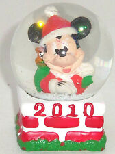 Disney Mickey Mouse Mini Snowglobe Penney Christmas Black Friday Giveaway 2010