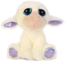 Russ Suki Gifts Lil Peepers Fun April Lamb Plush Toy with Silver Sparkle Accents