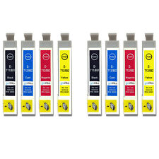 8 cartucce di inchiostro per Epson Stylus D92 DX5000 DX7450 BX300F SX100 SX218 SX610FW