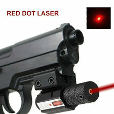 Hunting Picatinny Rail Red Laser Sight For Crossbow Rifle Gun Pistol Glock Mini