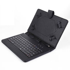 For 2013 Google Nexus 7 FHD 2nd Gen Leather Case Cover USB Keyboard With St
