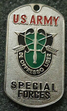 RUSSIAN DOG TAG PENDANT MEDAL   US ARMY SPECIAL FORCES     #111sxx