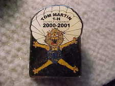 Lions Club Pins ILLINOIS TOM MARTIN 1-H DIST. GOVERNOR 2000-2001 PIN