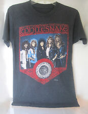 1980s~WHITESNAKE 1987-1988 NORTH AMERICAN TOUR~T-SHIRT SHIRT OFFICIALLY LICENSED