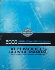 2000 Harley Sportster XL/XLH 883 1200 Repair Service Workshop Manual 99484-00A