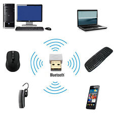 USB Bluetooth v4.0 Adapter Dongle-PC Windows 10 8 7 XP Vista Speakers Headphones