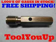 1 1/4 7 NC THREAD PLUG GAGE GO ONLY 1.250 P.D. = 1.1572 TOOLING TOOL QUALITY