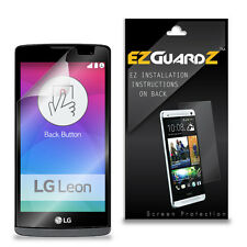 3X EZguardz LCD Screen Protector Skin Cover Shield 3X For LG Tribute 2 (Clear)