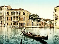 ART PRINT POSTER VINTAGE PHOTO VENICE TRAVEL DA MULLA PALACE ITALY NOFL1491