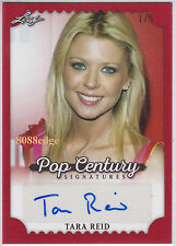 "2016 POP CENTURY AUTO: TARA REID #1/5 AUTOGRAPH ""CELEBRITY BIG BROTHER/VIPERS"""