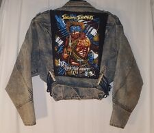 URBAN OUTFITTERS URBAN RENEWAL REWORK COLLECTION SUICIDAL TENDENICIES JACKET