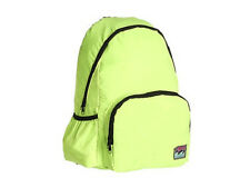 NWT Billabong Brand Medium Size Neon Green School Gym Backpack Book Bag Tote