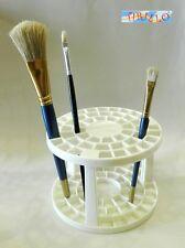 PITTURA DECORAZIONE - Porta pennelli o porta matite circolare in plastica