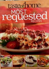 Taste of Home Most Requested Recipes new hardcover cookbook.