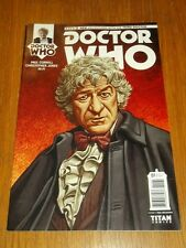 DOCTOR WHO #1 THIRD DOCTOR TITAN COMICS COVER D