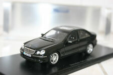 Spark 2005 Mercedes Benz C55 AMG W203 1/43 #S1045 Black New Rare