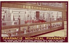 pre-1907 THE LARGEST DRUG STORE IN THE WORLD - PHARMACIE MONTREAL - CANADA