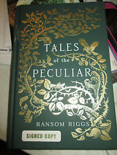 Signed! TALES OF THE PECULIAR Ransom Riggs (2016, Hardcover)