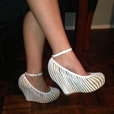 New Jeffrey Campbell SO-CRAZY WEDGE- SIZE-6.5