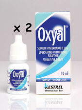 Oxyal Lubrication Eye Drops 20ml (2 x 10ml)  FREEPOST ocular lubricants wetting