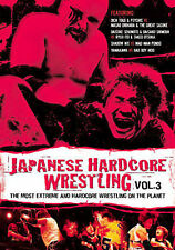 Japanese Hardcore Wrestling - Vol. 3 New DVD w/Free Shipping!