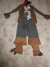Disney Store Jack Sparrow Pirate Costume childs Medium 7/8  New
