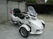 2012 Can-Am Spyder Roadster 998cc RT LTD SE5 991 Motorcycle 3-wheel in White