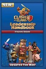 A Clash of Clans Leadership Handbook, 2011, Author signed inventory to clear