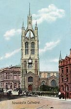 postcard  newcastle Cathedral Tyne & Wear   un posted