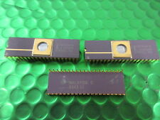 C8751H-8, Intel C8751, MCU, Microcontroller.Gold top and legs, Rare Vintage, NEW