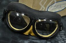 Authentic Russian Soviet Army Aviation, Pilot,Protective glasses,Goggles, WW2
