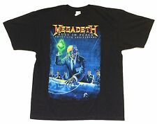 Megadeth Rust In Peace 20th Anniv 2010 Tour Black T Shirt XL New Official NOS