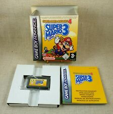 Jeu GameBoy Advance GBA SUPER MARIO BROS 3 Nintendo Complet Point VIP TBE