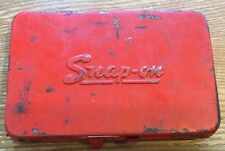 1966 Vintage Snap-On Tools 1/4 Drive ToolBox Storage Set KRA-255 Case 6.25x4x1""
