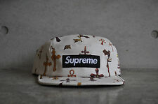 Supreme Crosses White Box Logo Camp Cap