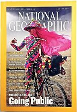 National Geographic 2001 August Land Going Public Spiders Oil Ocean Grove NJ NGM