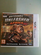 Outdoors Unleashed Africa 3D  3DS  SIGILLATO VERSIONE UFFICIALE ITALIANA