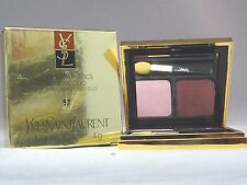 YVES SAINT LAURANT-FARD A PAUPIERES POUDRE DUO-EYE SHADOW POWDER DUO-#97 - NIB
