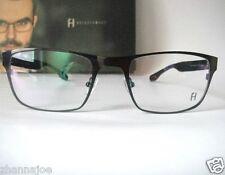 Freudenhaus Titanium Large 55-21 145 Wayne Gunmetal Eyeglass Frame Specs Mens