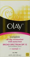 Olay Complete All Day Moisturizer with Broad Spectrum SPF 15 Normal, 4.0 fl oz,