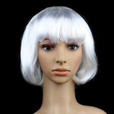 WOMENS LADIES ❀ SHORT BOB STYLE ❀ WIG FANCY DRESS COSPLAY WIGS POP PARTY COSTUME