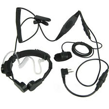 Heavy Duty Throat Microphone With VOX For Motorola MAG ONE A8 AV1200 LTS2000