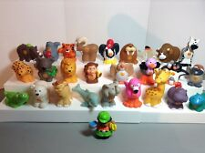 Fisher Price Little People A to Z Alphabet Zoo Animals 26 Letters + Zookeeper