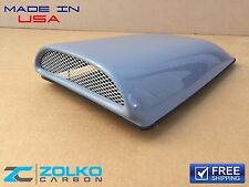 "Bolt On Cowl Induction 22""L Hood Scoop Universal Fiberglass Aero Air Intake FMB"
