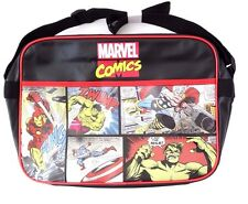 Marvel Comics Shoulder | Messenger | Courier | School Bag Hulk Thor Iron Man NWT